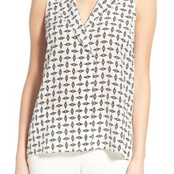 Trouve Tops - Trouve Silk Tank Top